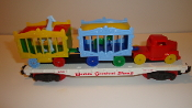Reproduction American Flyer Flatcar and Circus Load  #302