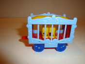 Yellow Elephant Circus Wagon  #116