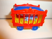 New Circus Wagon Red Sides/Yellow Frame for American Flyer #600