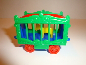 New Circus Wagon Green Sides/Blue Frame for American Flyer #602
