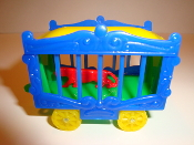 New Circus Wagon Blue Sides/Green Frame for American Flyer  #603