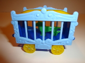 Circus Wagon Baby Blue Sides/Blue Frame for American Flyer #604