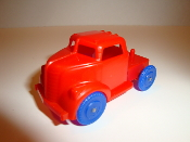 Circus Truck for American Flyer - Red Truck/blue wheels #700