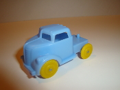 Circus Truck for American Flyer - Baby Blue Truck/yellow #702