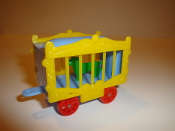 Circus Wagon Yellow Sides/Baby Blue Frame for American Flye #606